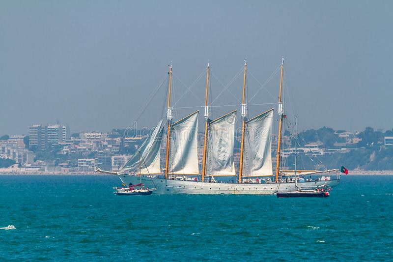 Skepp Santa Maria Manuela royaltyfri fotografi