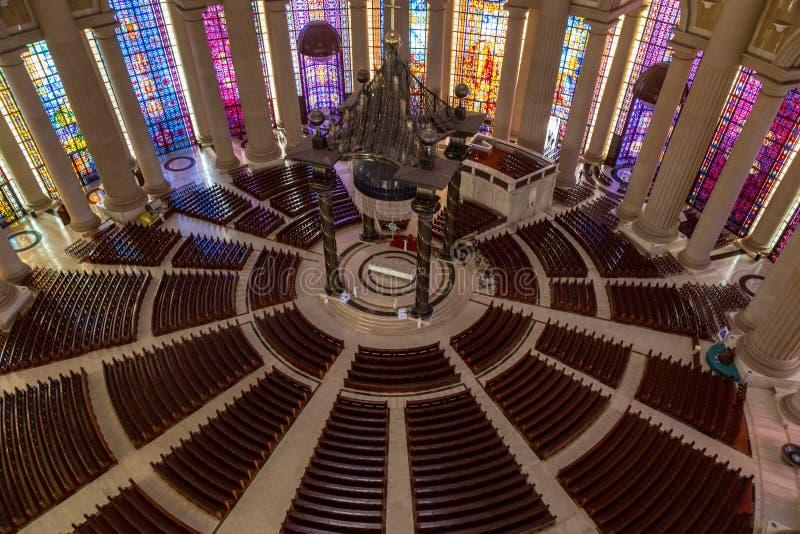 Skeppet av basilikan av vår dam av fred royaltyfria bilder