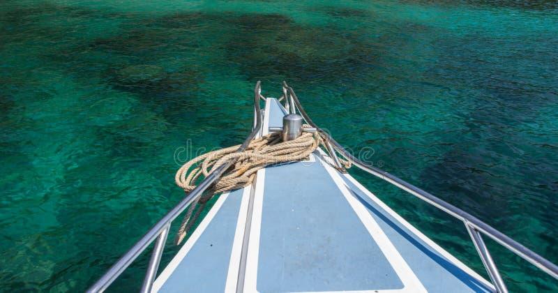 SkeppnäsFront View fartyg fotografering för bildbyråer