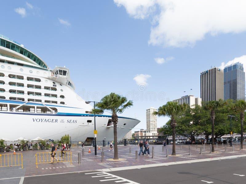 Skeppresanden av haven, Sydney royaltyfri foto