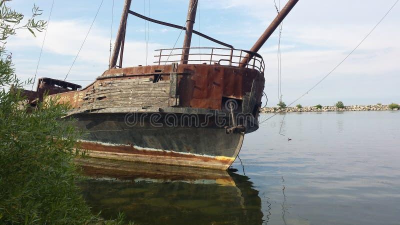 Skeppsbruten spöke royaltyfri fotografi
