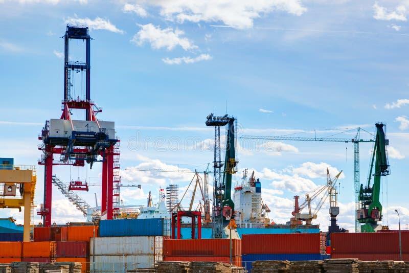 Skeppsvarv Skepp under konstruktion, reparation industriellt arkivfoto