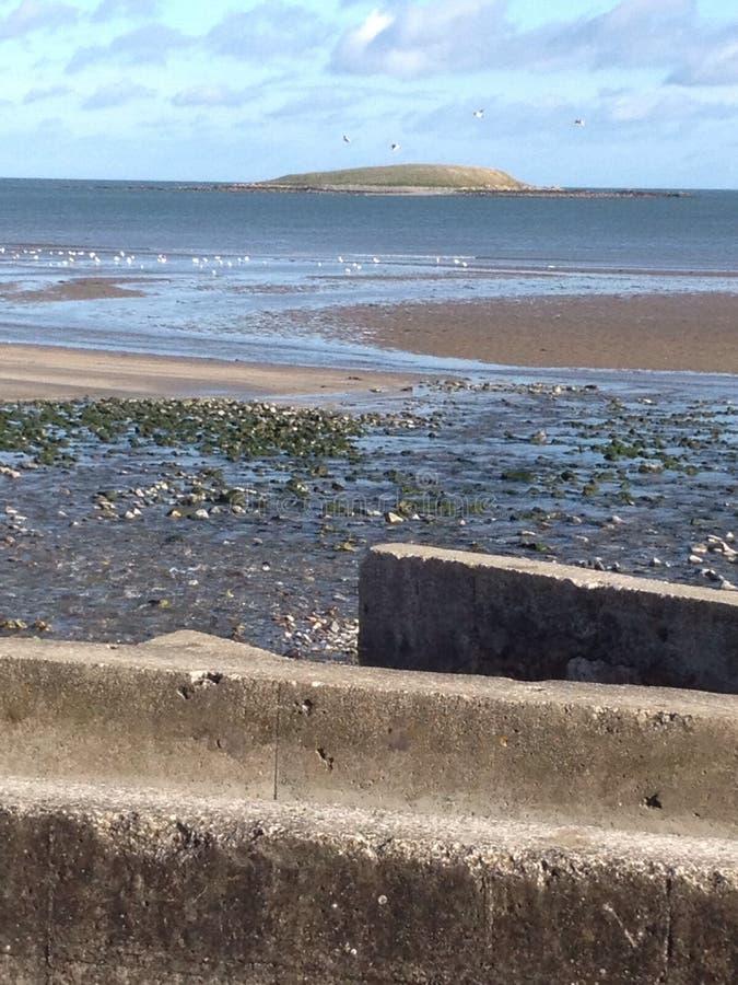 Skerries plaża w Irlandia fotografia royalty free