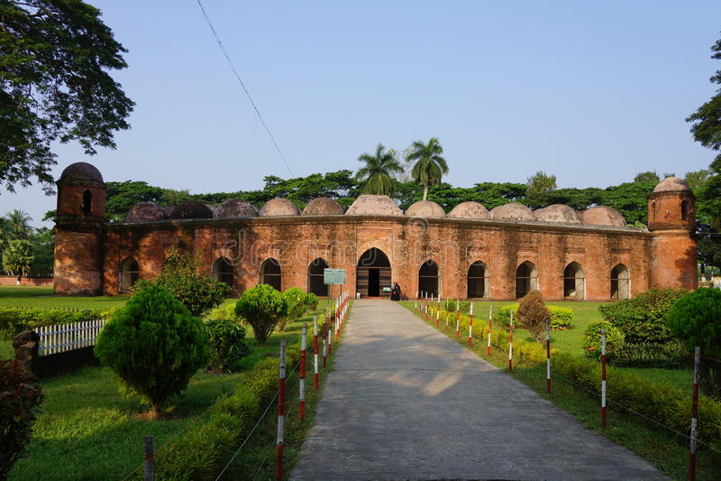 Sket Gombuj Masjid royaltyfri bild