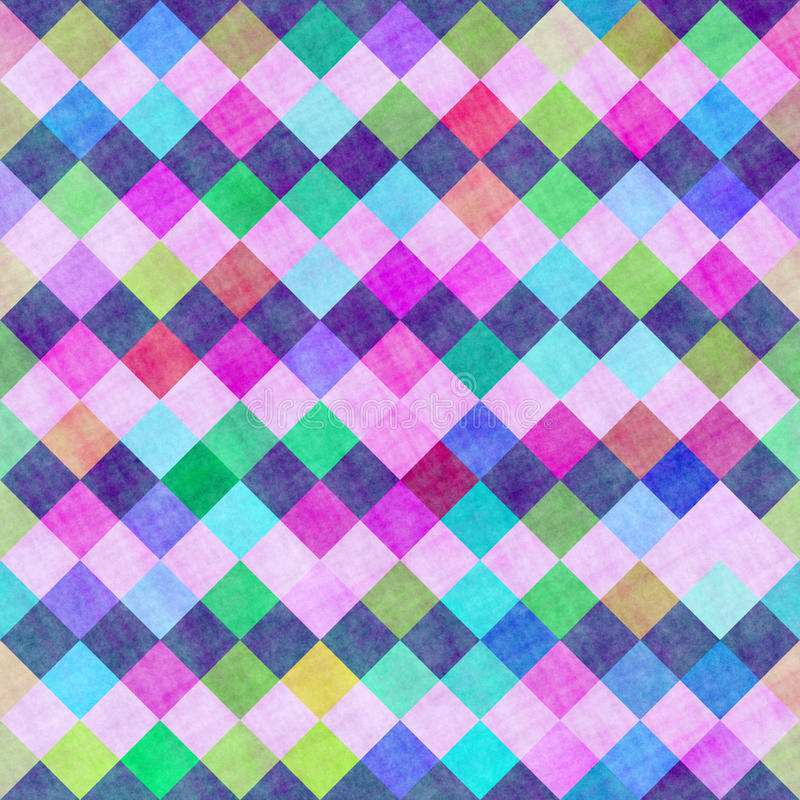 Download Sketch checks pattern stock illustration. Image of colorful - 12362842
