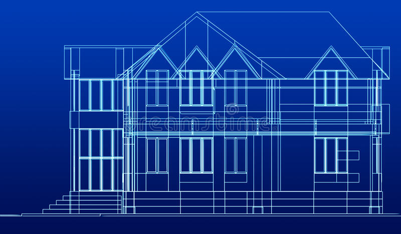 Download Sketch Of Cottage Stock Photo - Image: 19133510