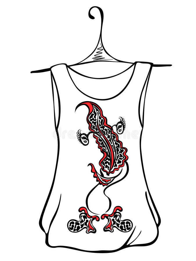 drawing a tshirt design