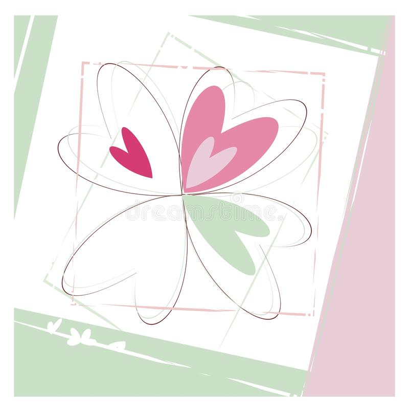 Download Sketch Of Flower In Pastel Colors Stock Vector - Image: 28605187