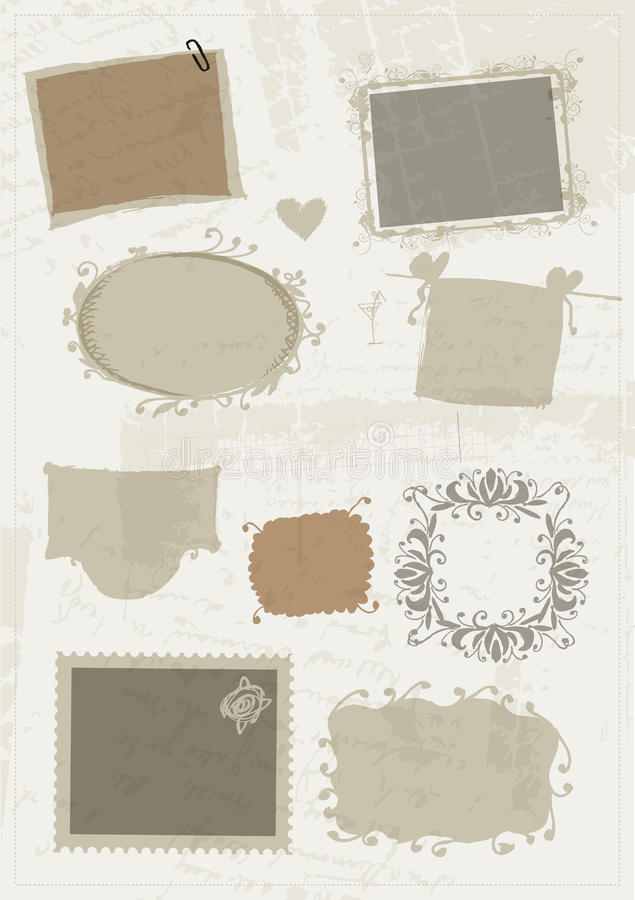 Download Sketch Of Frames, Hand Drawing For Your Design Stock Vector - Image: 22371140