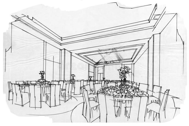 how to draw background room