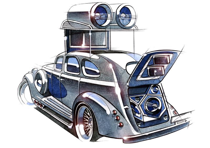 Car Sound Stock Illustrations – 1,790 Car Sound Stock