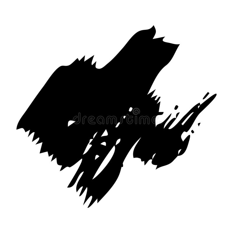 Hand drawn Paint Scribble Stains. Sketch Scribble Smear. Hand drawn Paint Scribble Stains. Vector illustration vector illustration