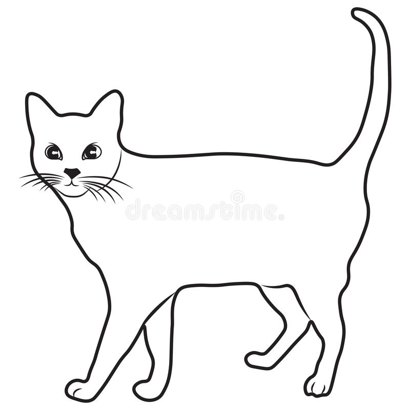 download sketch shape cat scouts icon cartoon design illustration nature seaside stock illustration illustration of