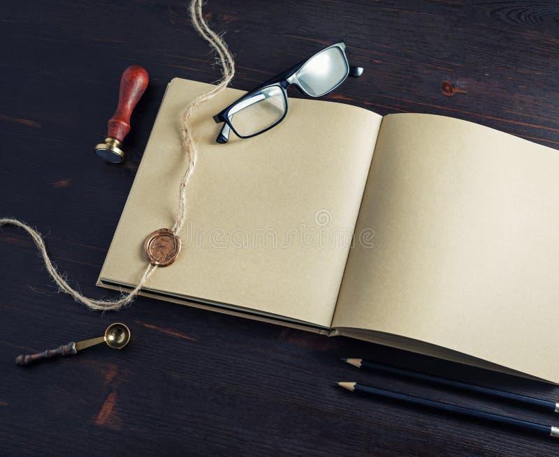 Sketchbook, Retropapier stockbilder