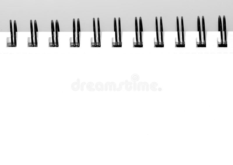 Sketchbook vuoto fotografie stock