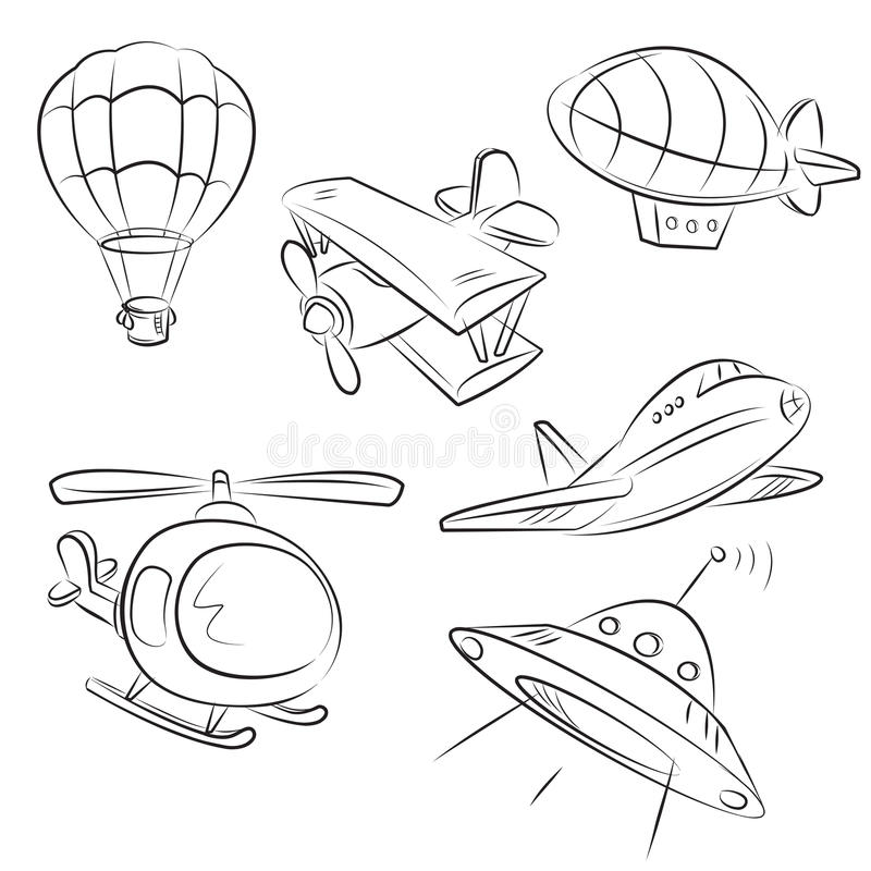 Sketched Types - Air Transport