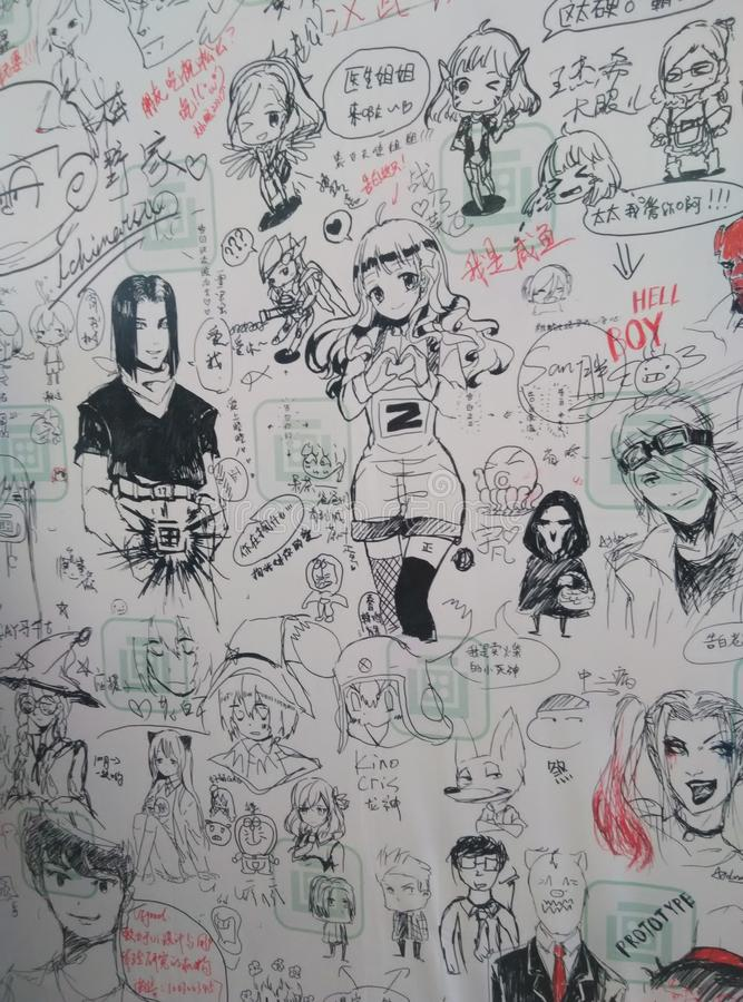 Sketches2 imagen de archivo