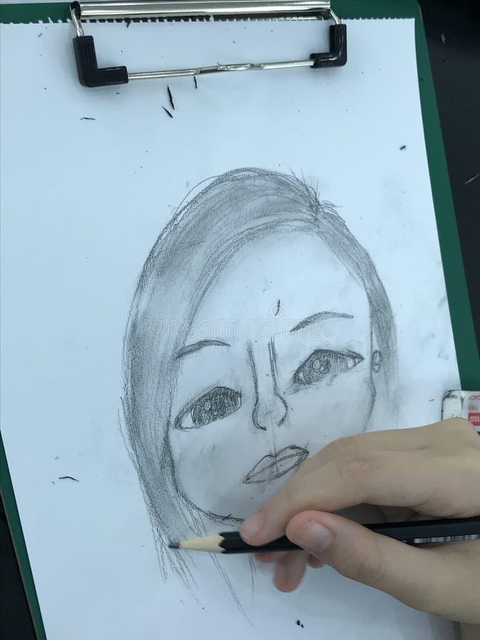 sketching imagen de archivo libre de regalías