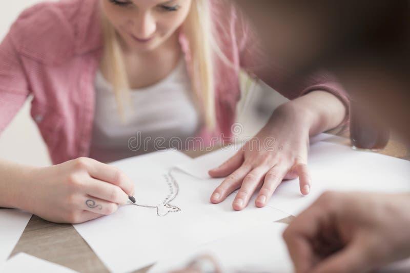 sketching стоковые фото