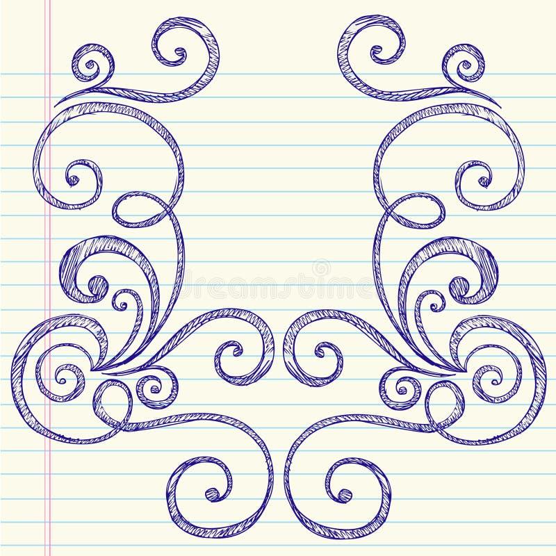 Sketchy Back to School Doodle Frame