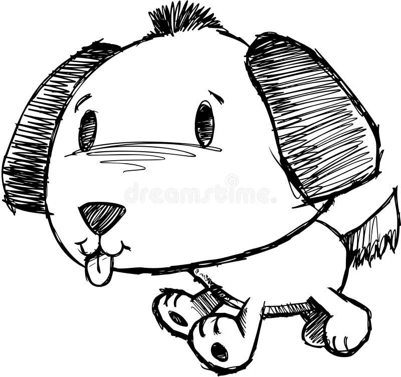 Download Sketchy Dog Vector Illustration Stock Vector - Image: 10341858