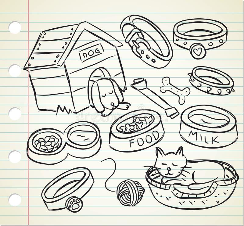 Download Pet doodle stock illustration. Image of animal, milk - 29863273