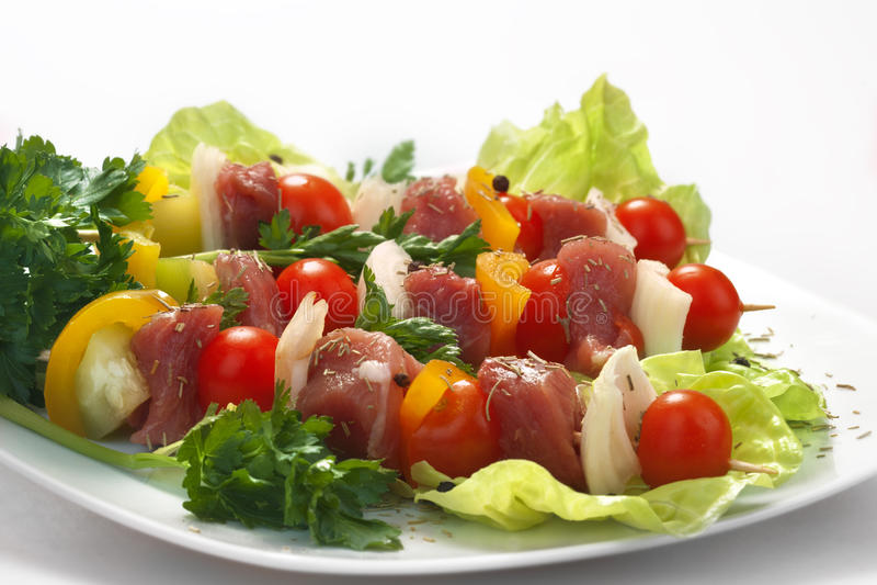 Download Skewers stock photo. Image of satay, serving, ingredient - 31508744
