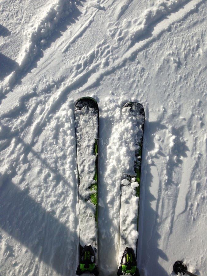 ski royalty-vrije stock foto