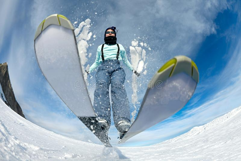 Ski royalty free stock image