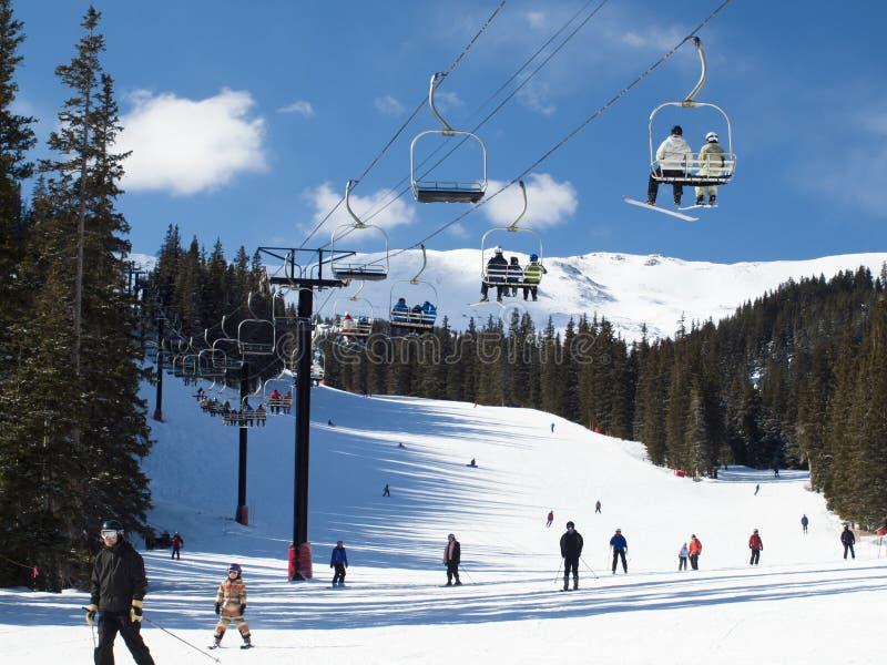 Ski photographie stock