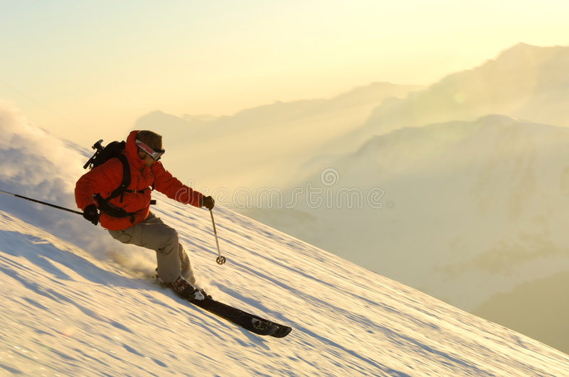 Ski royalty free stock photos