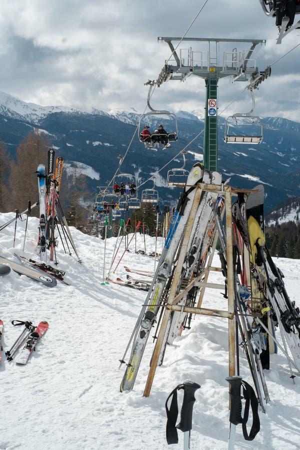 ski lizenzfreie stockfotos