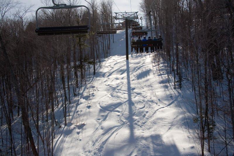 Ski stock foto