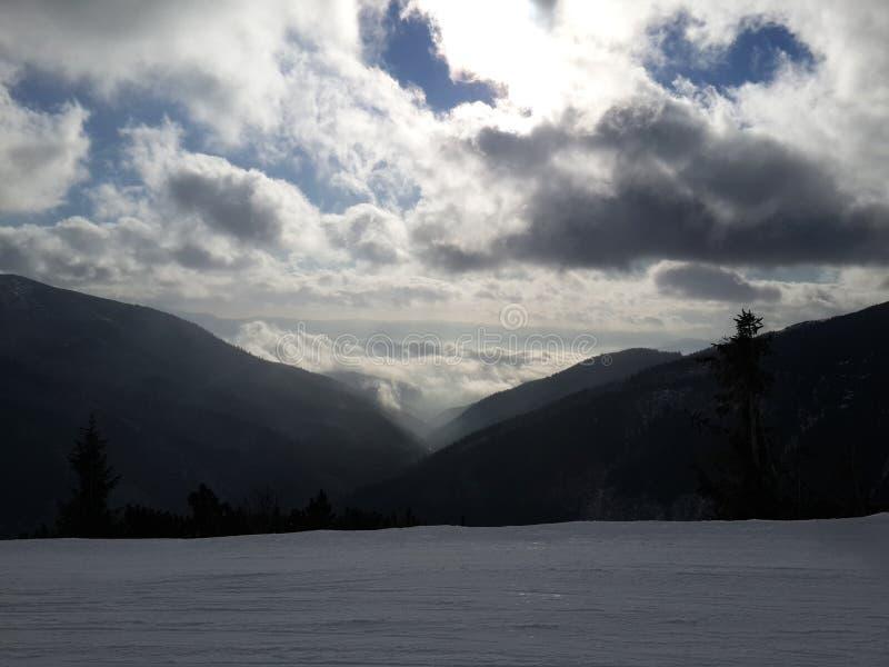 ski stockfotografie