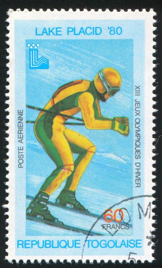 Ski alpin photos stock
