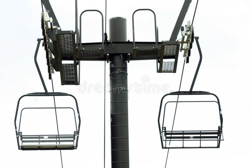 Ski-Aufzug stockfoto