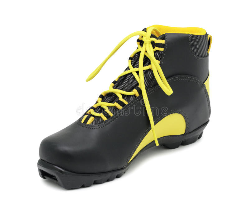 Download Ski Boot, Isolated Stock Photo - Image: 12779320