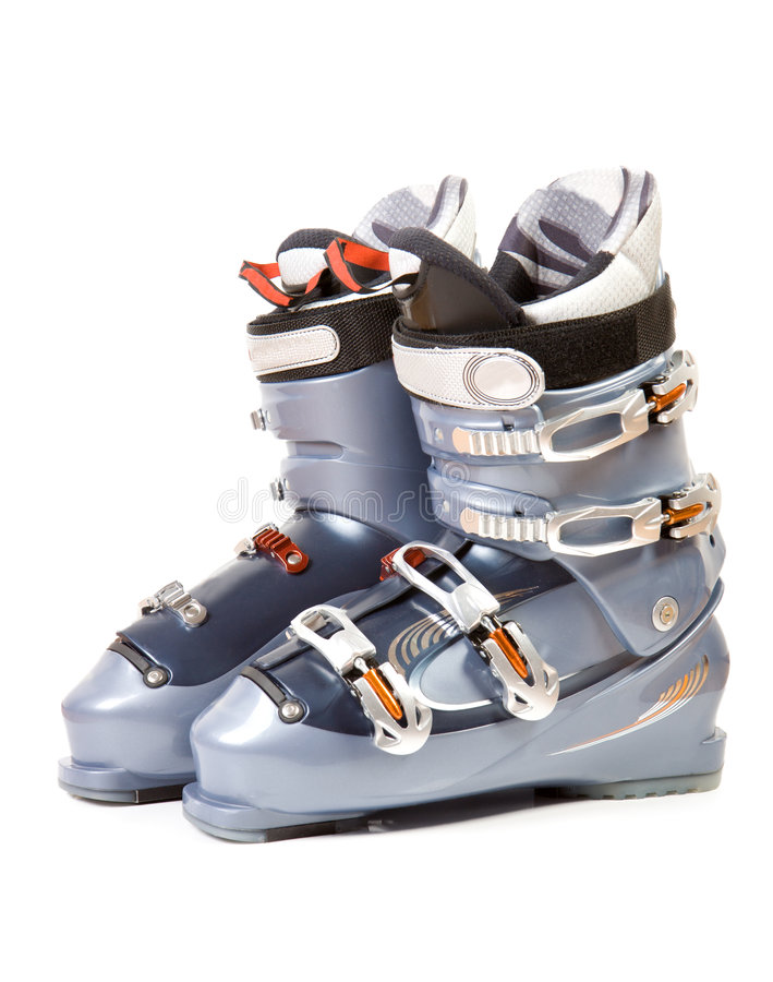 Ski Boots Royalty Free Stock Image