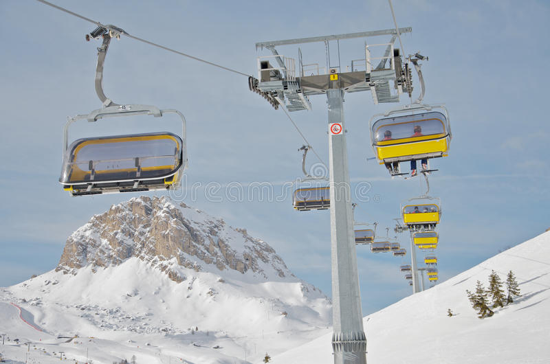 Download Ski Chair Lift Stock Photography - Image: 18169292