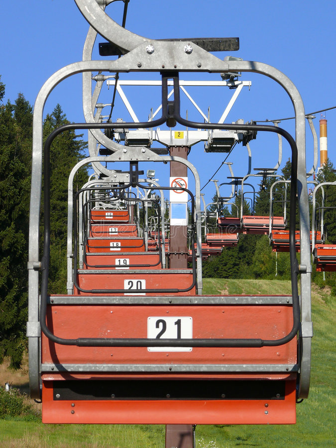 Download Ski Chair Lift Royalty Free Stock Photos - Image: 7098308