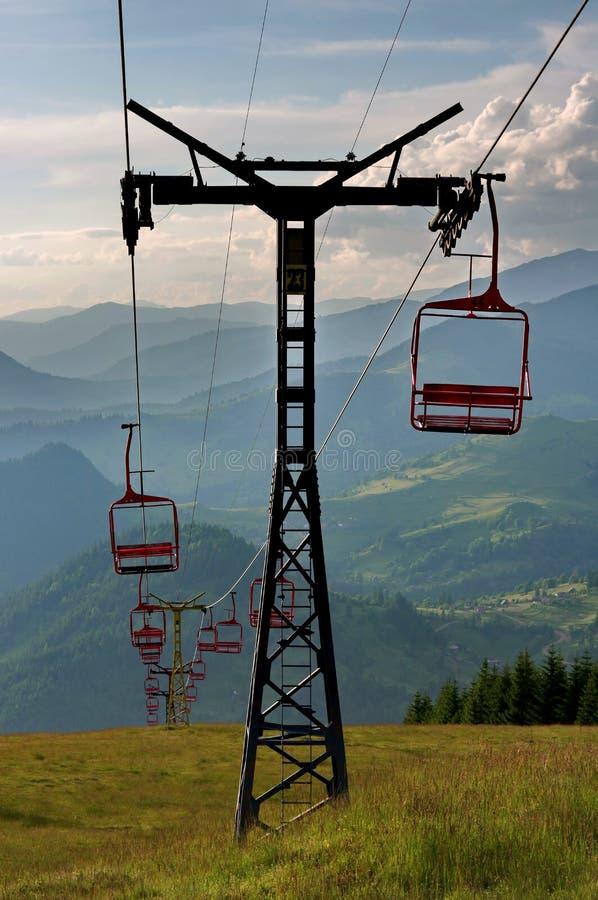 Ski Chairlift foto de stock royalty free