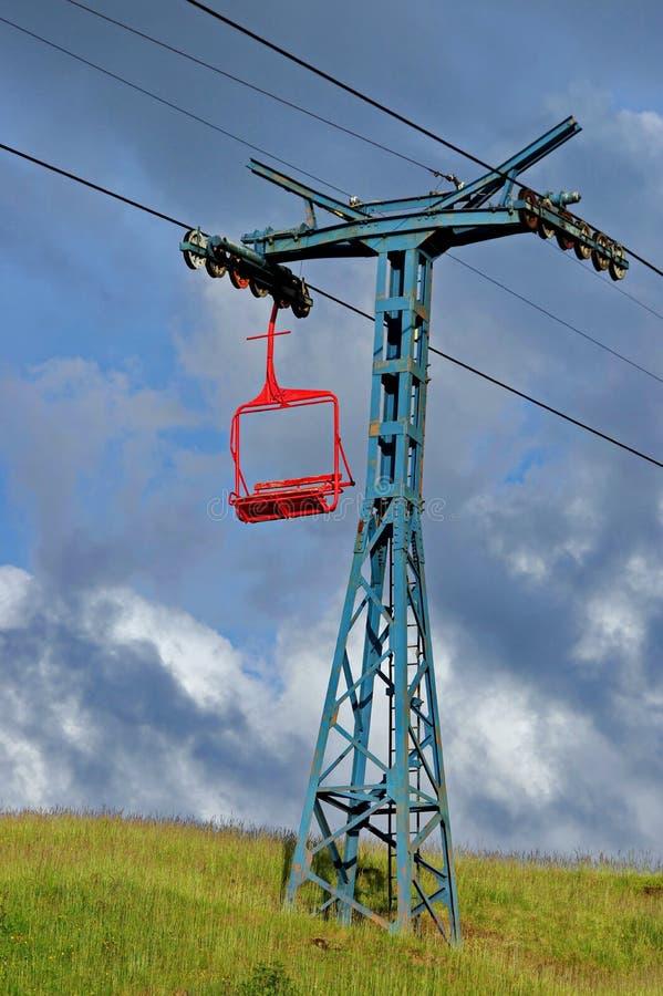 Ski Chairlift fotografia de stock royalty free