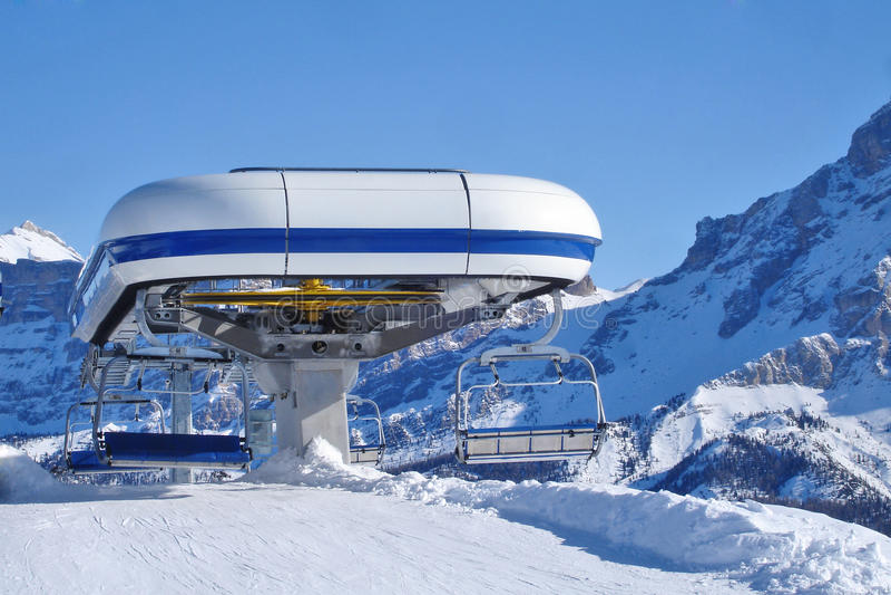 Ski Chairlift foto de stock