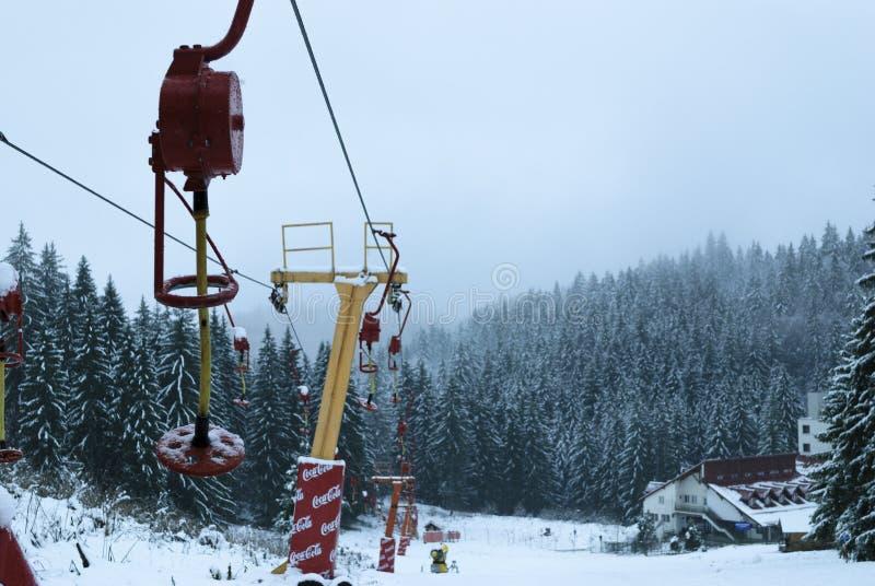 Ski Chairlift royalty-vrije stock fotografie
