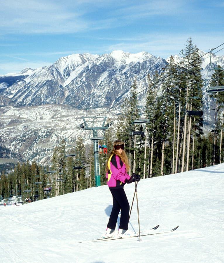Ski colorado stock images