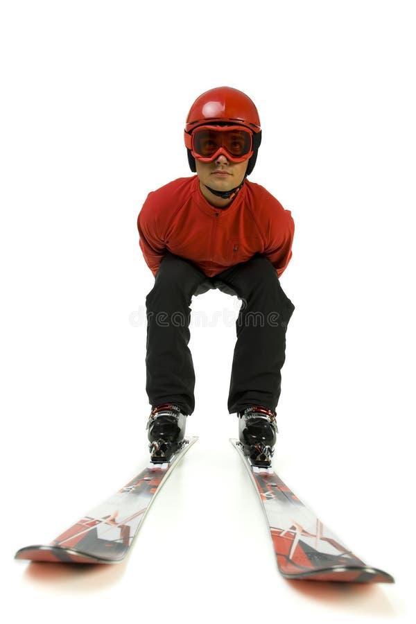 ski de cavalier photo libre de droits