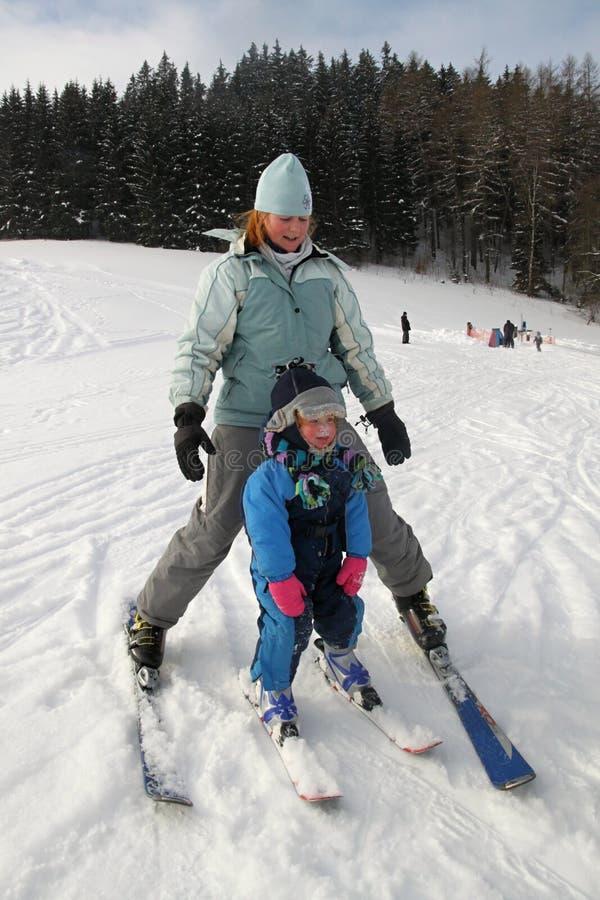 Ski de chéri photos libres de droits