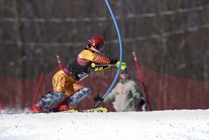 ski de coureur photo libre de droits