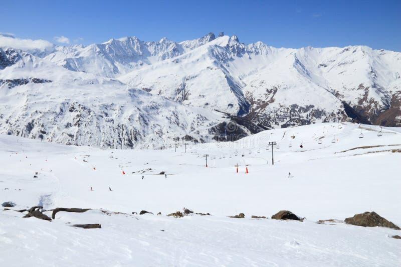 Ski de Frances photo stock