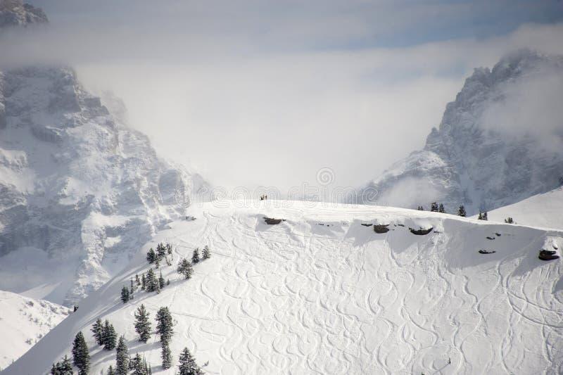 Ski Destination foto de archivo